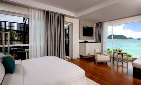 Suite Deluxe - Varanda - Vista Mar Andaman - Pullman Phuket Panwa Beach Resort - Phuket