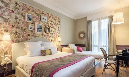 Chambre Classique Triple - Villa Otero By HappyCulture - Nice