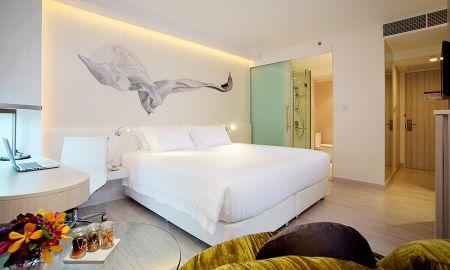Quarto Deluxe - Centara Watergate Pavillion Hotel Bangkok - Bangkok