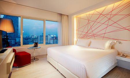 Suite Deluxe Um Quarto - Centara Watergate Pavillion Hotel Bangkok - Bangkok
