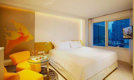 Residência da Família Deluxe - Centara Watergate Pavillion Hotel Bangkok - Bangkok
