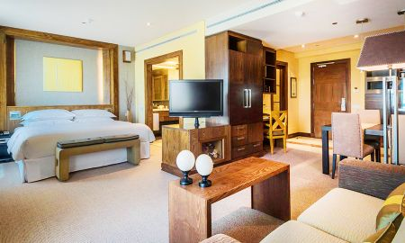Suite Deluxe con Parking - Uso Individual - Eurostars Suites Mirasierra - Madrid