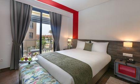 Chambre Individuelle - Wazo Hotel - Marrakech