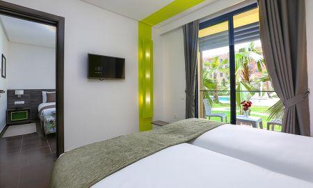 Chambre Triple - Wazo Hotel - Marrakech