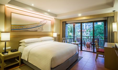 Deluxe-Zimmer - Lagoon Poolblick - Phuket Marriott Resort & Spa, Merlin Beach - Phuket