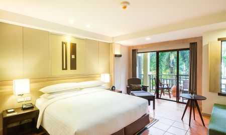 Premier-Zimmer - Lagoon Poolblick - Phuket Marriott Resort & Spa, Merlin Beach - Phuket