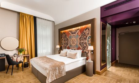 Superior Room With Extra Bed - Hotel Moments Budapest - Budapest