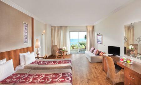 Quarto Individual Standard com Vista para o Mar - Akka Antedon Hotel - Kids Concept - Antália