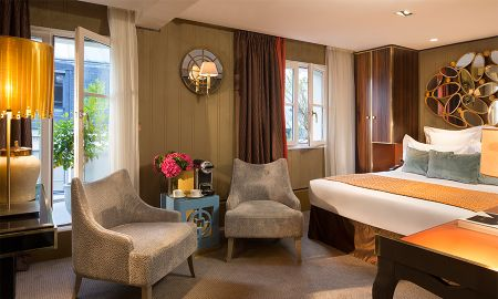 Chambre Double Deluxe Avec Terrasse - Hôtel Baume - Paris