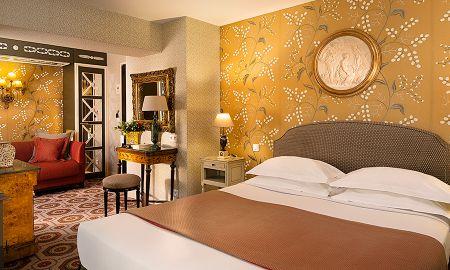 Chambre Deluxe avec Terrasse - Hôtel Des Grands Hommes - Paris