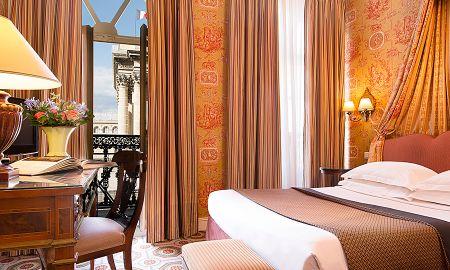 Chambre Supérieure avec Balcon - Hôtel Des Grands Hommes - Paris