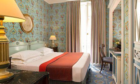Chambre Classique - Hôtel Des Grands Hommes - Paris