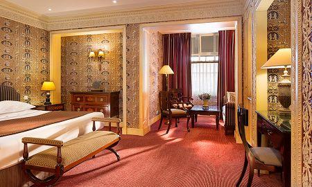 Suite Junior Deluxe - Hôtel Des Grands Hommes - Parigi