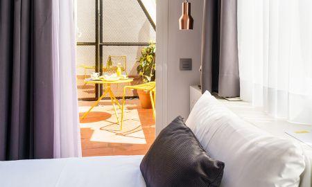 Camera Comodo singolo con terrazza - The Walt Madrid - Madrid