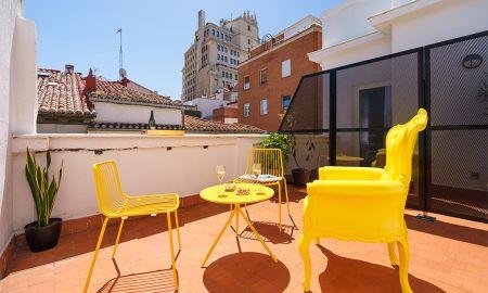 Camera Premium Gran Via con Terrazza - The Walt Madrid - Madrid