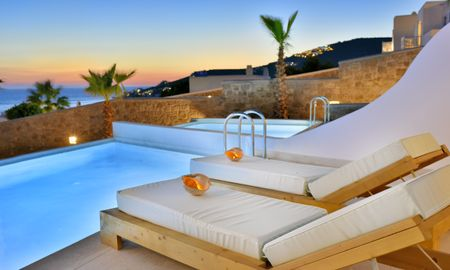 Эксклюзивный люкс с собственным бассейном - вид на море - Anax Resort And Spa - Mykonos