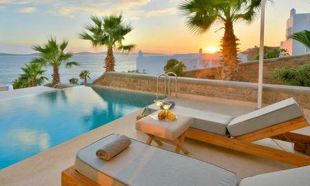 Аппартаменты люкс с собственным бассейном - Anax Resort And Spa - Mykonos