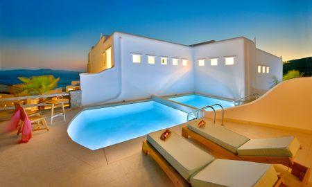 Семейный коттедж с собственным бассейном - Ограниченный вид на море - Anax Resort And Spa - Mykonos