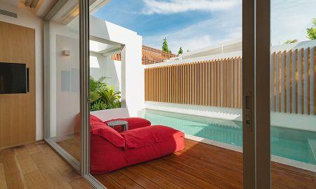 Villa avec Piscine Privée - Face à l'océan - Sensimar Koh Samui – Adults Only Resort - Koh Samui