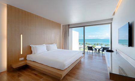 Suite deluxe avec Vue sur la Mer - Sensimar Koh Samui – Adults Only Resort - Koh Samui