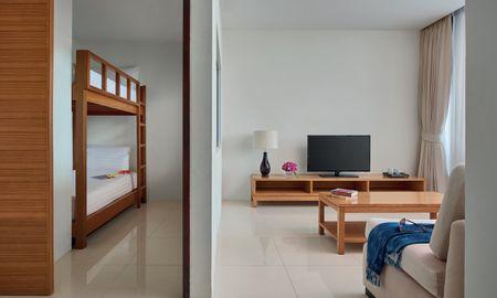 One Bedroom Family Suite no balcony - Splash Beach Resort Maikhao Phuket - Phuket