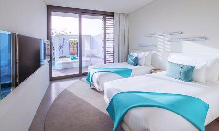 Chambre Twin - Nikki Beach Resort & Spa Dubai - Dubai