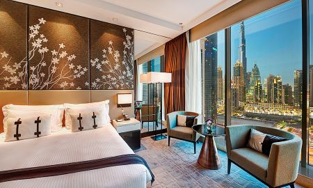 Chambre Supérieure King avec Vue Burj Khalifa - Steigenberger Hotel - Business Bay - Dubai