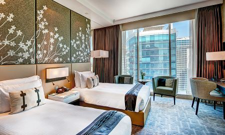Superior Room with twin beds - Steigenberger Hotel - Business Bay - Dubai