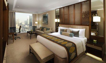 Chambre Familiale Luxury King Bed- Vue Ville - Taj Dubai - Dubai