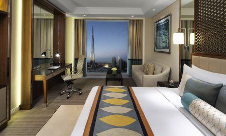 Taj Chambre Club King Bed- Vue sur Burj - Taj Dubai - Dubai