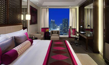 Chambre Luxury King Bed - Vue Sur Ville - Taj Dubai - Dubai