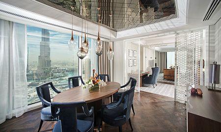 Suite Luxury King Bed - Vue sur Burj - Taj Dubai - Dubai