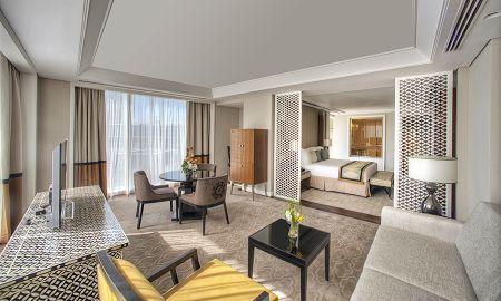 Luxury Suite Junior King Bed - Vue sur Ville - Taj Dubai - Dubai