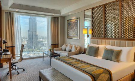 Chambre Luxury King Bed - Vue sur Burj - Taj Dubai - Dubai