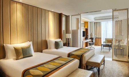 Chambre Familiale Luxury Twin Bed - Vue Ville - Taj Dubai - Dubai