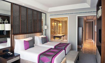 Chambre Luxury Twin bed - Vue sur la Ville - Taj Dubai - Dubai
