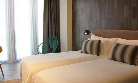 Chambre Design - Twin - Ohla Eixample - Barcelone