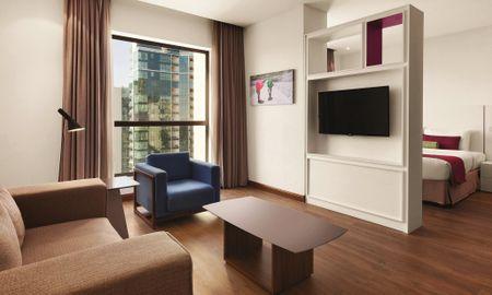 Camera Deluxe Vista Mare - Hawthorn Suites By Wyndham JBR - Dubai