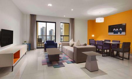 Suite Due Camere - Hawthorn Suites By Wyndham JBR - Dubai