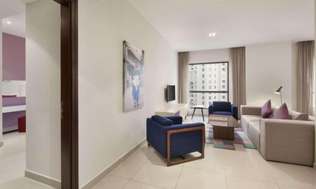 Suite Una Camera - Hawthorn Suites By Wyndham JBR - Dubai