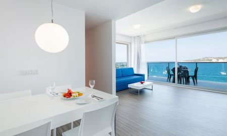 Deluxe Premium Wohnung - Meerblick - AxelBeach Ibiza Suites Apartments Spa And Beach Club - Adults Only + 18 - Balearische Inseln