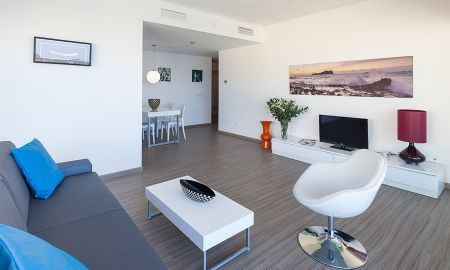Ein Schlafzimmer Suite - Frontalen Meerblick - AxelBeach Ibiza Suites Apartments Spa And Beach Club - Adults Only + 18 - Balearische Inseln