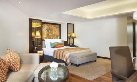Junior Suite con vistas al río con y acceso al salón Executive Kasara - Anantara Riverside Bangkok Resort - Bangkok