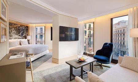 Suite Junior avec Vue sur Ville - The One Barcelona GL - Barcelone