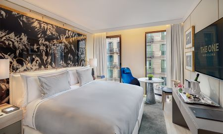 Chambre Double Deluxe avec Vue sur Ville Usage Single - The One Barcelona GL - Barcelone