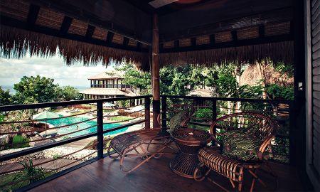 Pavillon Ulin avec Vue sur Océan - Suarga Padang Padang - Bali