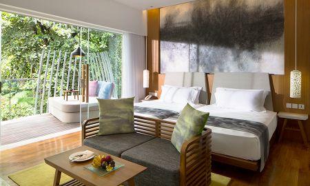 Deluxe Zimmer mit Lagunenblick - Maya Sanur Resort & Spa - Bali