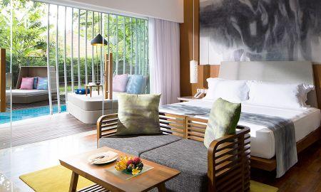 Deluxe Zimmer mit Zugang zur Lagune - Maya Sanur Resort & Spa - Bali