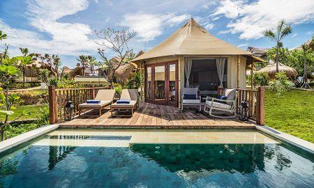 Cliff Tent Villa - Une Chambre - Menjangan Dynasty Resort - Bali