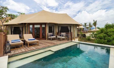 Cliff Tent Villa - Deux Chambres - Menjangan Dynasty Resort - Bali